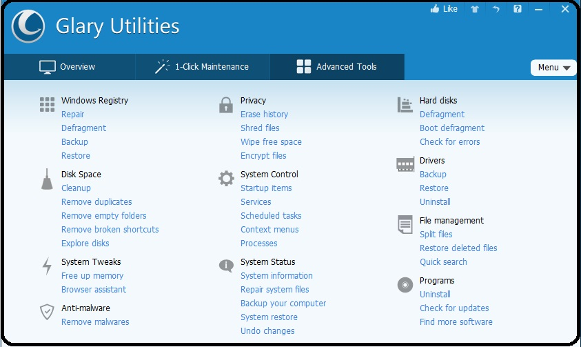 glary utilities free download for mac