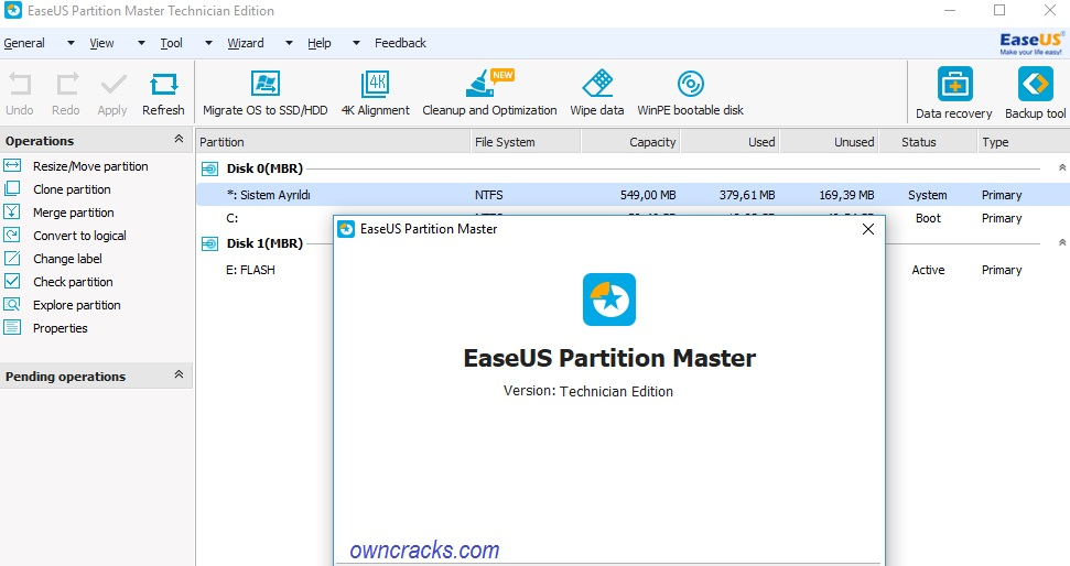 EaseUS Partition Master 13 0 Crack & License Code Free Download